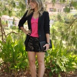 MEU LOOK: Pink & Black