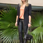 Meu Look: Black and Metallic