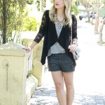 Meu Look: Black & Grey