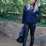Meu Look: Navy & Black