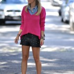 Meu Look: Couro & Spikes