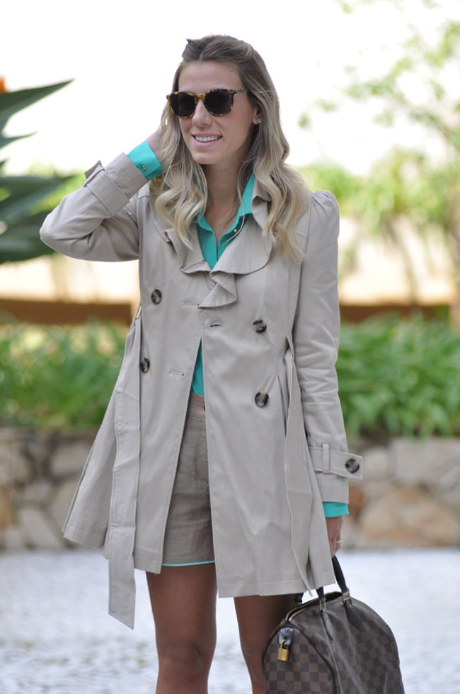 Meu Look Trench Coat Glam4you Blog De Moda Com Nati Vozza