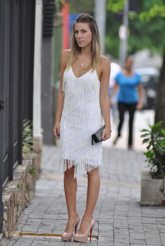 GLAM4YOU - INSPIRACAO - FESTA - FINAL DE ANO - REVEILLON - VESTIDO BRANCO - LOOK