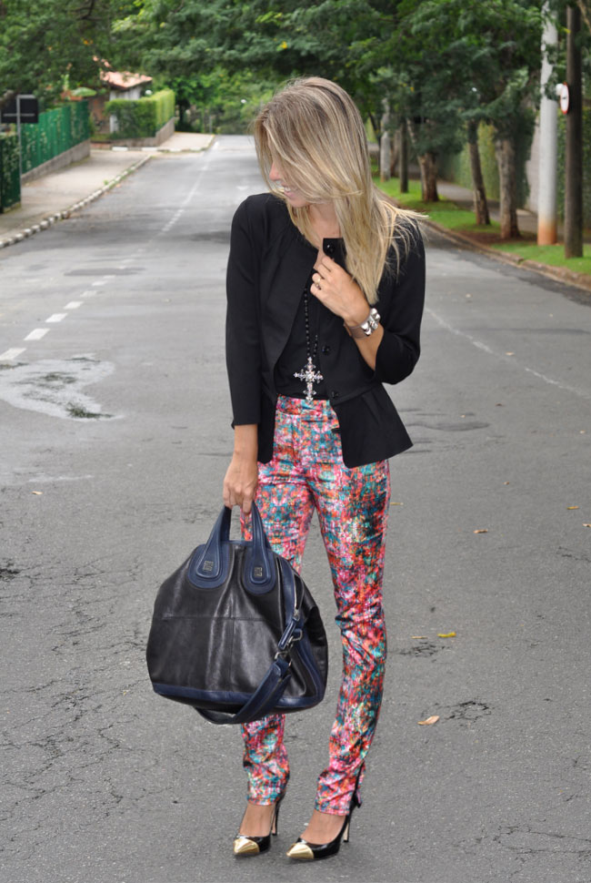 glam4you - look - calça - estampada - printed - pants - look - blog - gallerist