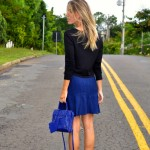 Meu Look: Cropped & Godê