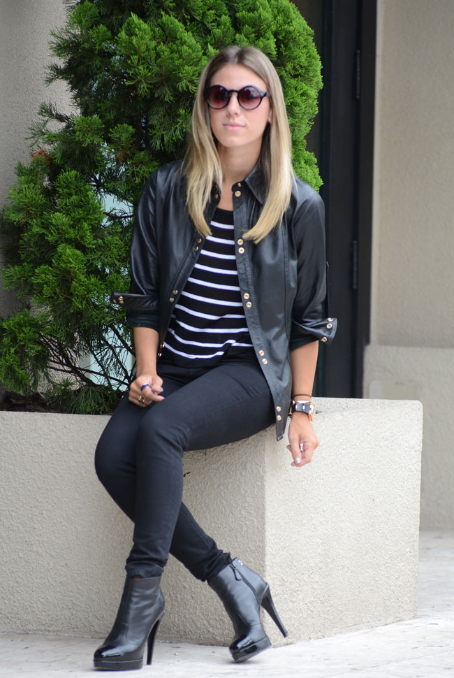 glam4you - nati vozza - blog - look 0- bynv - camisa - couro - listra - cinto - lilly sarti