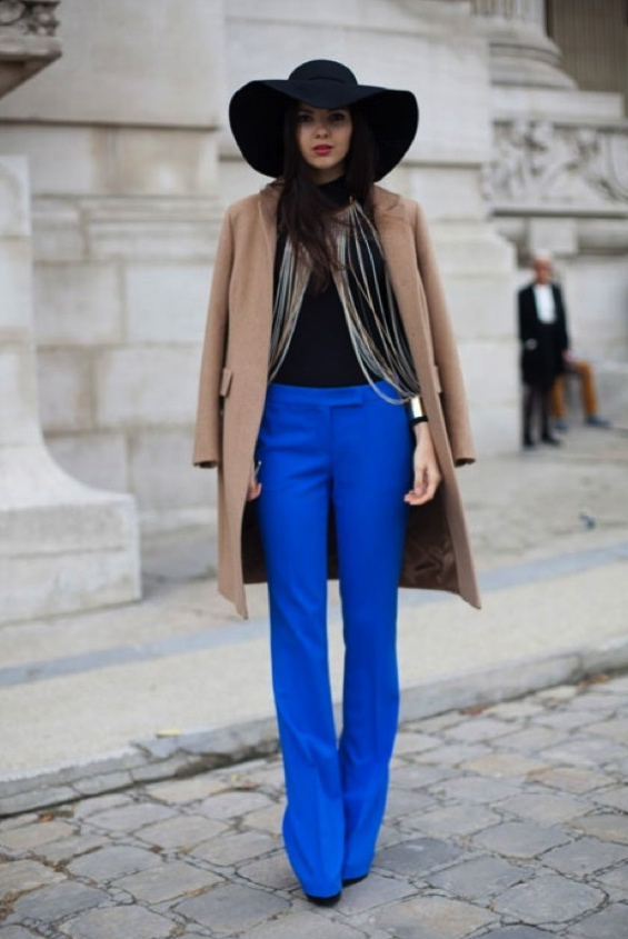 STREET-STYLE-GLAM4YOU - NATI VOZZA - BLUE - HAT