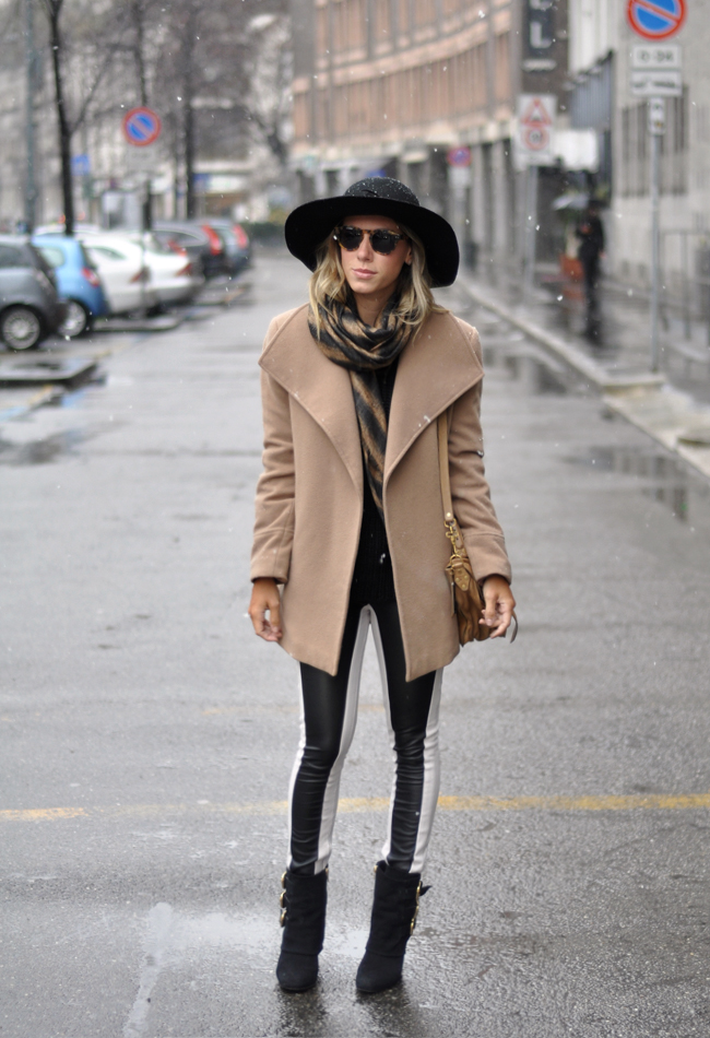 LOOKBEGE - nati vozza - glam4you - blog - look - milan - fashion week - winter - coat - beige