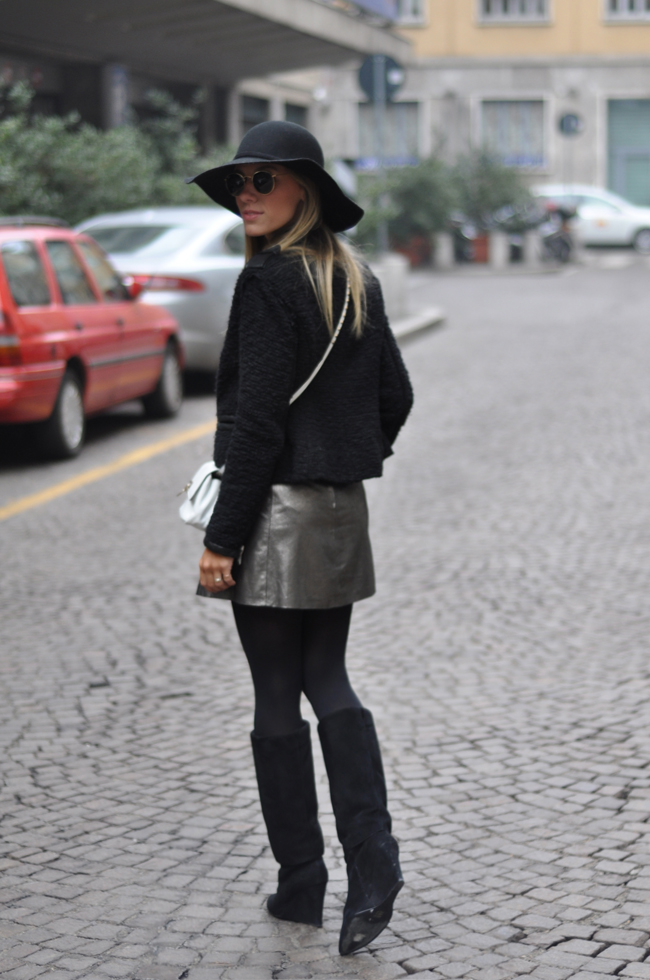 glam4you - nati vozza - blog - look - milao - fashion week - winter - cold - hat - chapeu - valentino