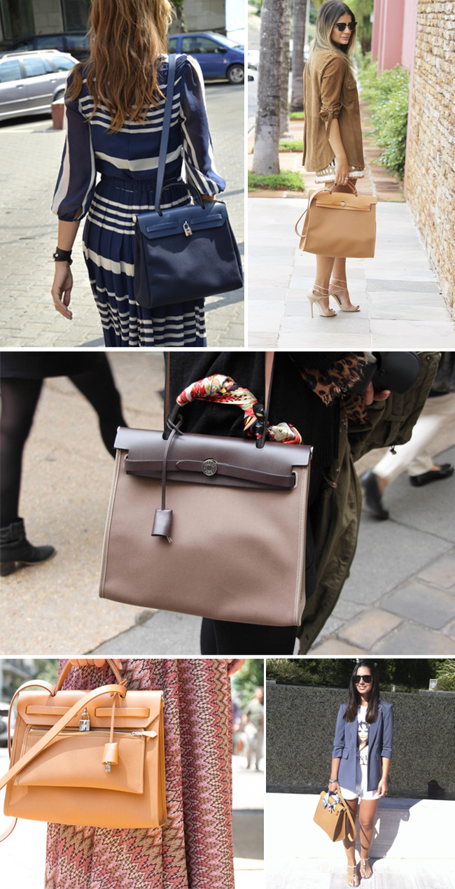 glam4you - bolsas - bags - nati vozza - herbag - hermes - celine - trio - look