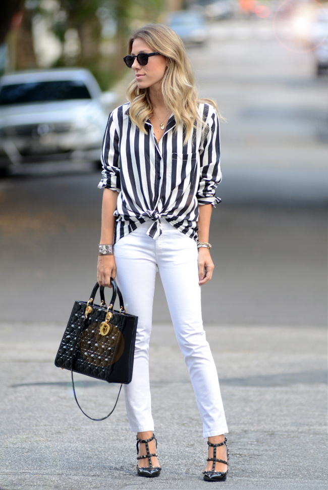 glam4you-nati-vozza-blog-moda-look-como-usar-listra-preto e branco-dior-branco-valentino-casual-friday