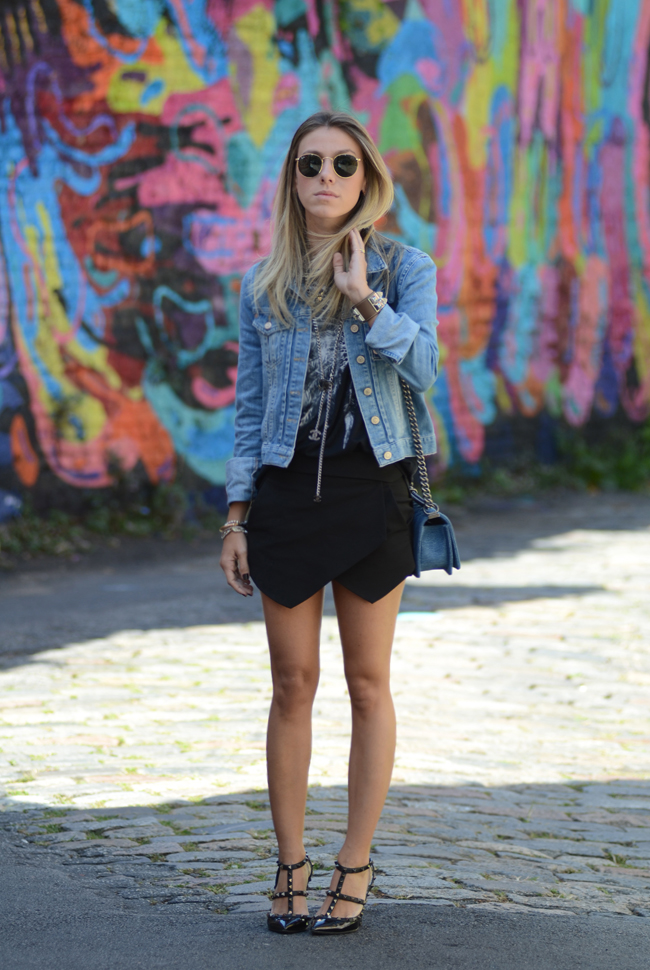 Glam4You por Nati Vozza | Meu Look: Black & Jeans