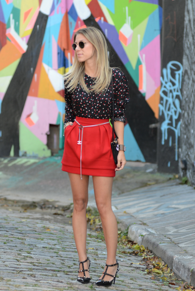 Glam4You por Nati Vozza | Meu look: Lady in Red <3
