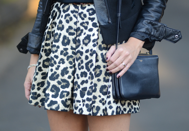 Glam4You por Nati Vozza | Meu look: Leopard Skirt