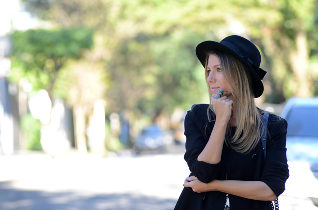 Glam4You por Nati Vozza | Meu look: Azulejo Portugues e Chapeu