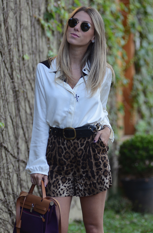 Glam4You por Nati Vozza | Meu look: Leopard