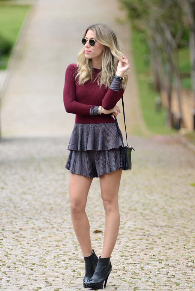 Glam4You por Nati Vozza | Meu look: Conjuntinho Peplum