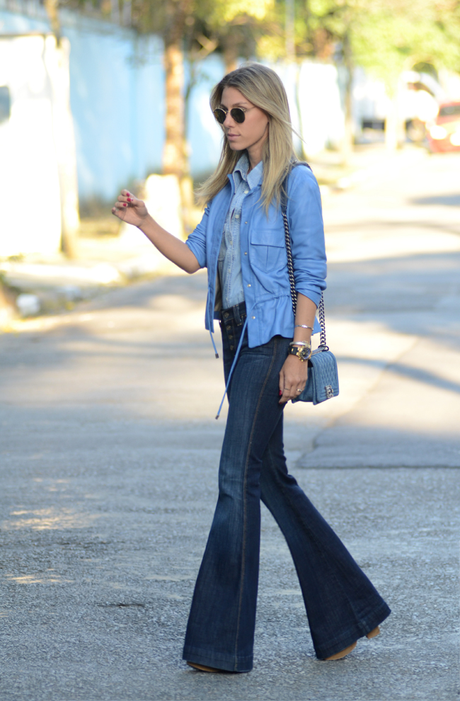 Glam4You por Nati Vozza | Meu look: Jeans & Jeans & Blue