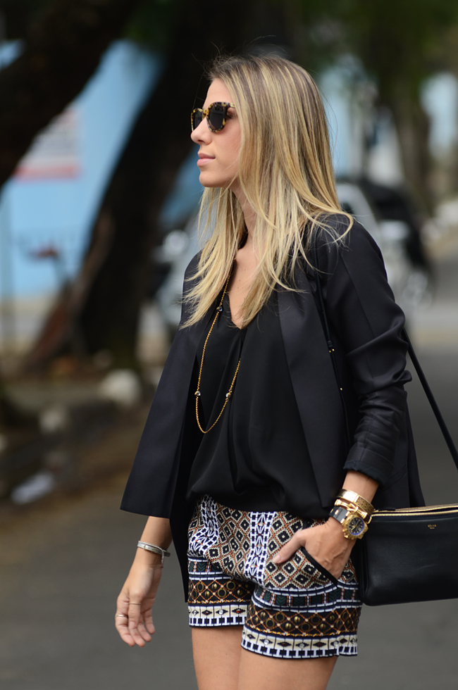 Glam4You por Nati Vozza | Meu look: Short Etnico