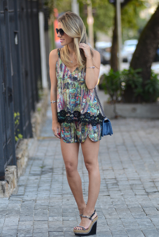 Glam4You por Nati Vozza | Meu look: Conjunto Estampa