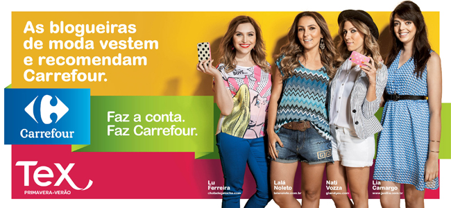 Glam4You por Nati Vozza | Campanha: Revista Carrefour