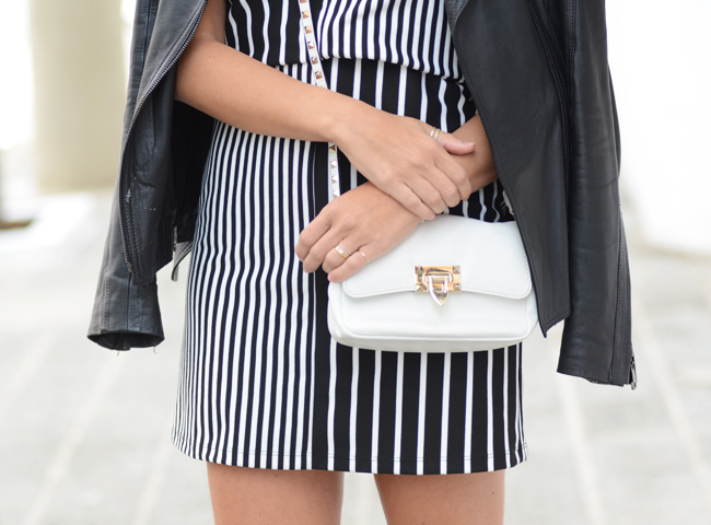 Glam4You por Nati Vozza | Meu look: Little black&white dress