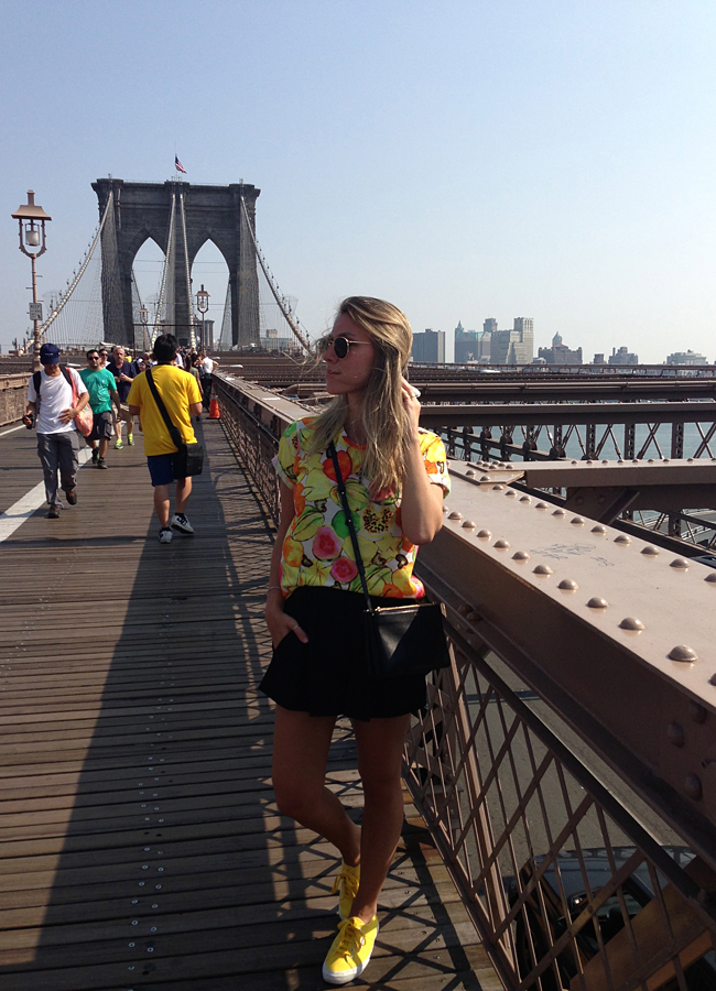 Glam4You por Nati Vozza | Diário NYC: Brooklin Bridge e Meu Look