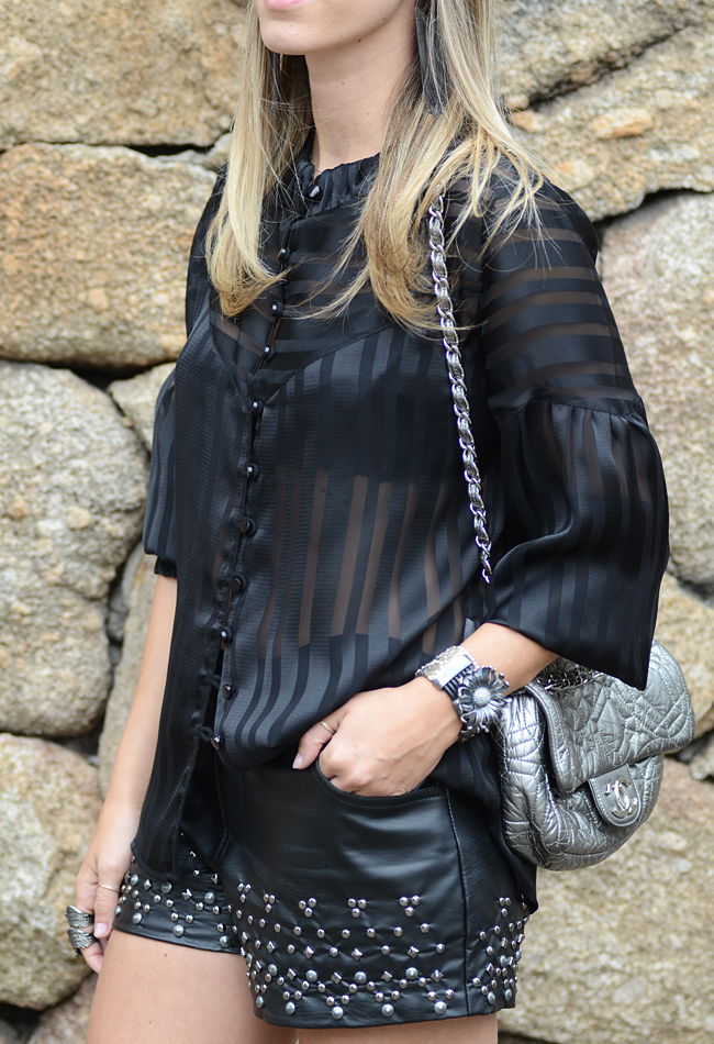 Glam4You por Nati Vozza | Meu look: Black Textures