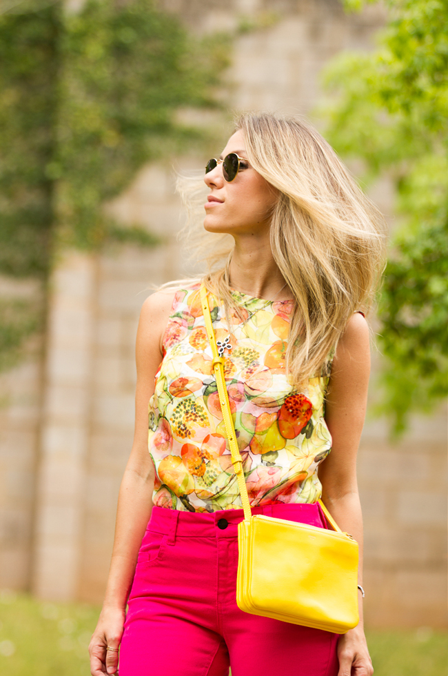 Glam4You por Nati Vozza | Meu look: Pink & Yellow
