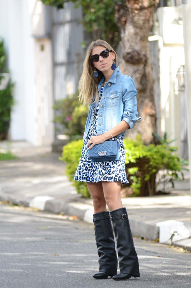 Glam4You por Nati Vozza | Meu look: Onça Azul