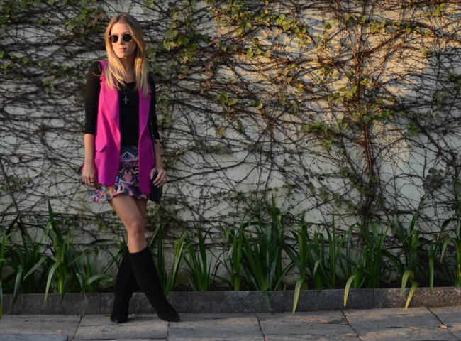 Glam4You por Nati Vozza | Meu look: Cores no Frio