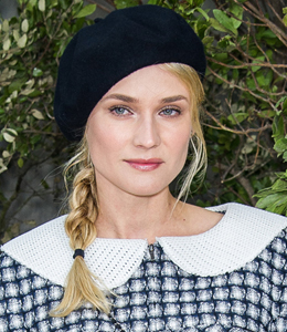 PARIS, FRANCE - JANUARY 22:  Diane Kruger attends the Chanel Spring/Summer 2013 Haute-Couture show as part of Paris Fashion Week at Grand Palais on January 22, 2013 in Paris, France.  (Photo by Dominique Charriau/WireImage)