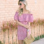 LOOK DO DIA COM VESTIDO DE BABADO