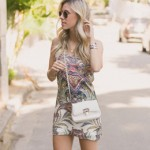 LOOK DO DIA COM VESTIDO ESTAMPADO E FLATS