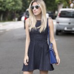 LOOK DO DIA VESTIDO JEANS