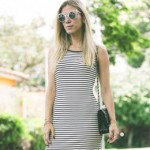 LOOK DO DIA VESTIDO MIDI E TENIS