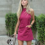 LOOK DO DIA VESTIDO TRAPÉZIO