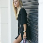 LOOK DO DIA VESTIDO E JAQUETA