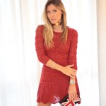 LOOK DO DIA BLAZER E VESTIDO DE TRICOT