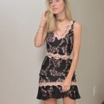 LOOK DO DIA VESTIDO DE RENDA