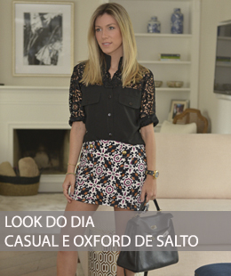 LOOK CASUAL COM OXFORD DE SALTO