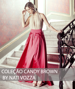 VESTIDOS DE FESTA CANDY BROWN BY NATI VOZZA