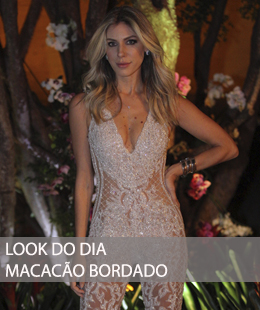 LOOK DO DIA FESTA: MACACÃO BORDADO FESTA #BRU31