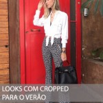 3 MANEIRAS DE USAR LOOKS COM CROPPED