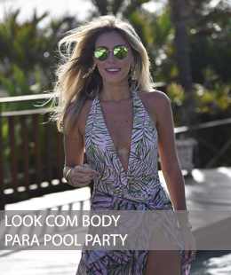 DICA DE LOOK COM BODY PARA POOL PARTY
