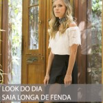 LOOK DO DIA CROPPED E SAIA LONGA