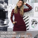 LOOK DO DIA MACAQUINHO DE SARJA