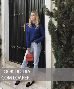 DICA DE LOOK CASUAL COM LOAFER