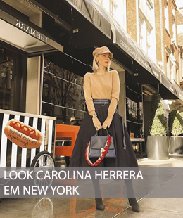 LOOK CAROLINA HERRERA EM NYC