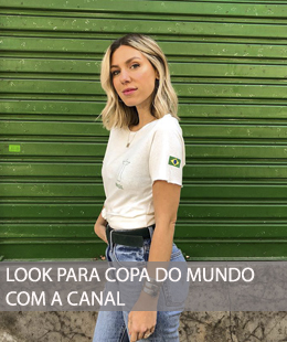 LOOK PARA COPA DO MUNDO 2018 NA CANAL